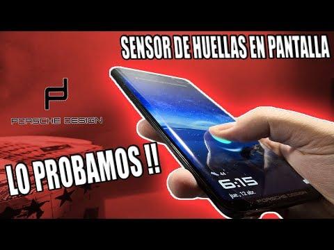 SENSOR DE HUELLAS EN PANTALLA - LO PROBAMOS!! - HUAWEI MATE RS PORSCHE DESIGN