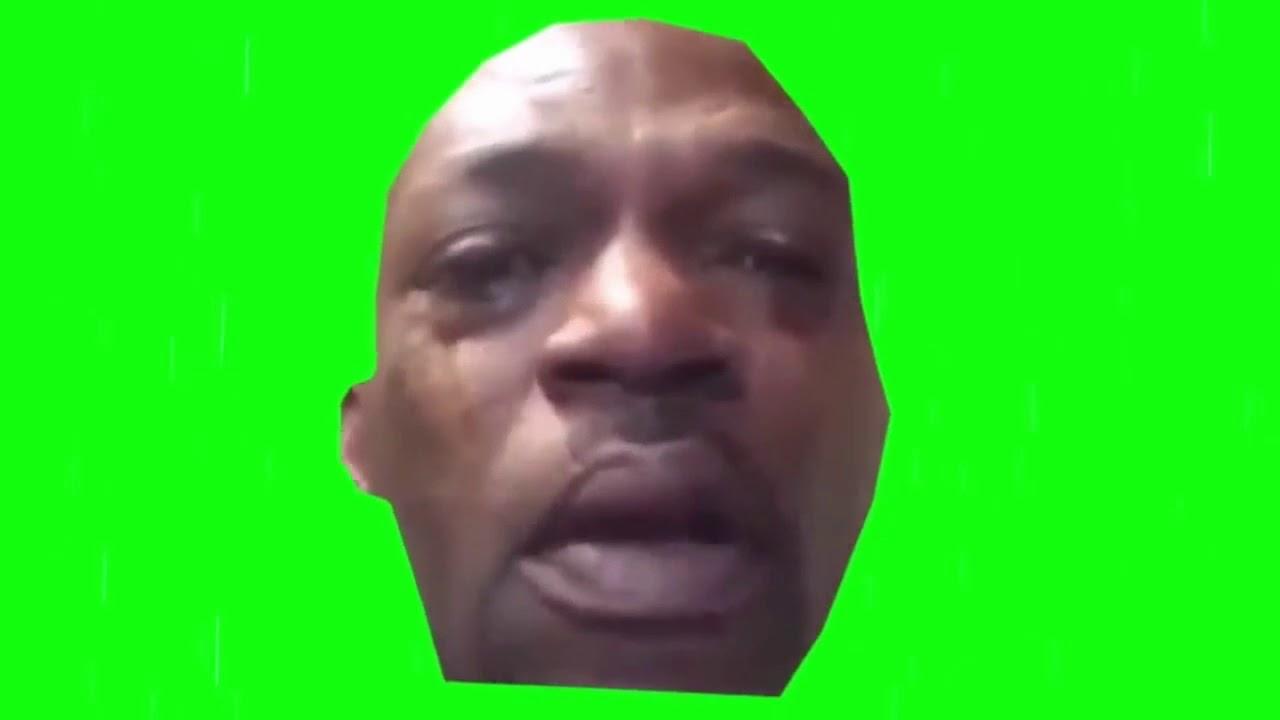 Free crying guy meme green screen - YouTube