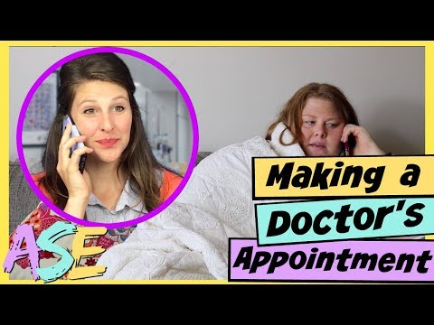 English Phone Conversations: Doctor's Appointment