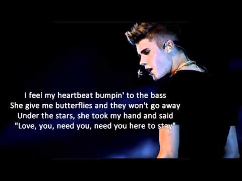 Justin Bieber - Memphis ft. Big Sean (Lyrics) Official video lyrics