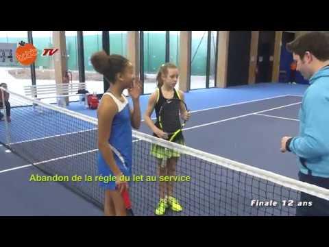 TCBB: Finale filles 12 ans -Tennis Europe
