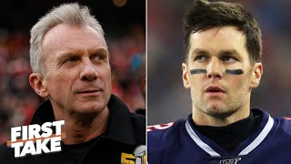 Joe Montana warns Tom Brady to not leave the Patriots | First Take