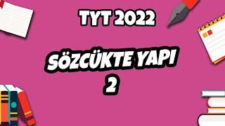Sözcükte Yapı -2 Yapım Eki / Çekim Eki  TYT Türkçe 2021 hedefekoş