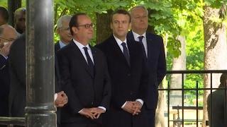 François Hollande announces plans for museum, memorial to victims of slavery