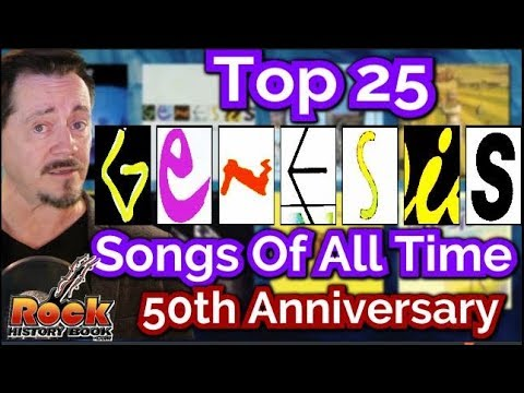 Top 25 Genesis Songs Of all Time, Picked By Fans, 50th Anniversary Edition