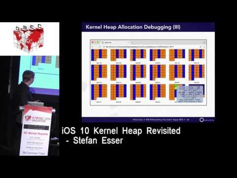 #HITBGSEC 2016 SG Conference Track D2 - iOS 10 Kernel Heap Revisited - Stefan Esser