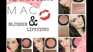 My Favourite MAC Blusher & Lipsticks Thumbnail