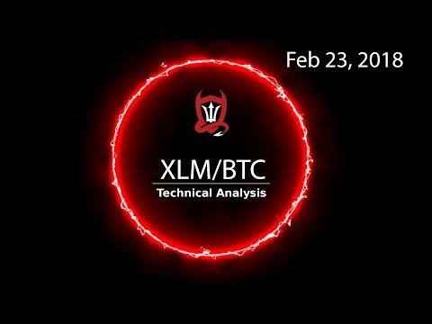 Stellar Technical Analysis (XLM/BTC) Lumen Sale Aisle 3 [02/23/2018]