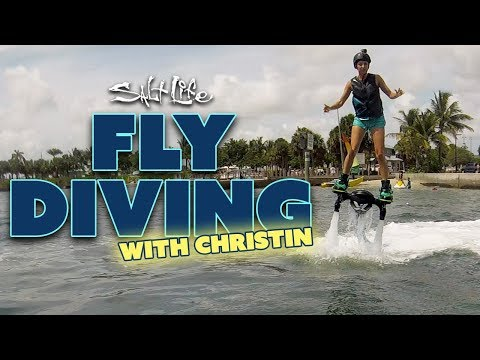 Christin Learns to Fly Dive | Salt Life