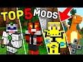 TOP 5 MELHORES MODS PARA O MINECRAFT PE ! - (Minecraft Pocket Edition)