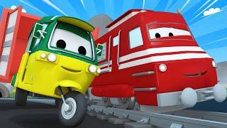 Zug für Kinder -  Tao das Tuktuk (3)  - Troy der Zug in Car City