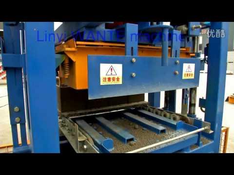 Linyi Wante Machinery QT4-24 block making machine
