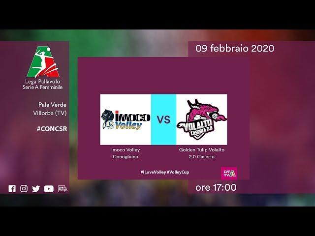 Conegliano - Caserta | Speciale | 17^ Giornata | Lega Volley Femminile 2019/20