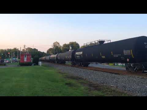NS 191 pulls into the siding in Fort Mill, SC