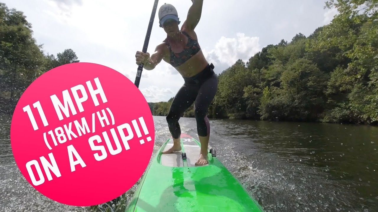 Watch: I DID IT! I busted through 9mph to log a scorching 11mph on a Stand Up Paddleboard