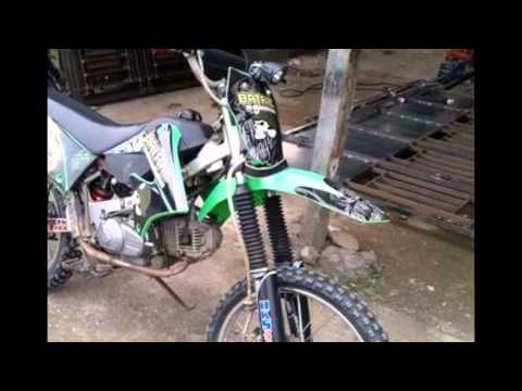 Video Modifikasi Motor Yamaha Vega R 2009 Modif Trail Klx Rangka