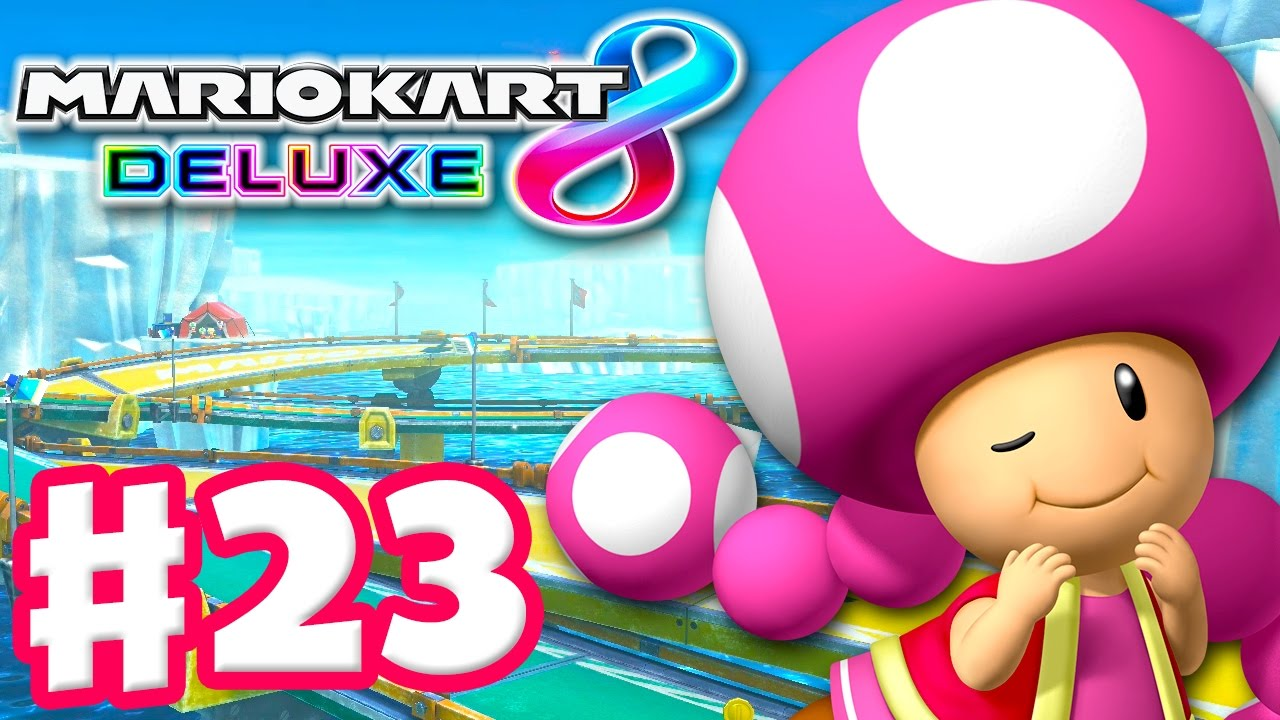 Toadette! Triforce Cup! Online Vs Races! - Mario Kart 8 ...