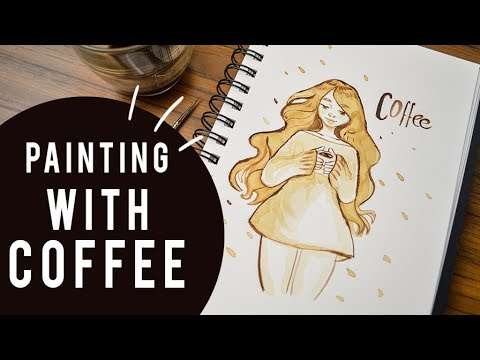 Painting with COFFEE! - Challenge