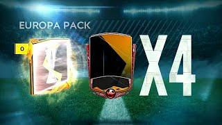 Massive UEFA EUROPA LEAGUE Pack Opening in FIFA Mobile 20!!!!!