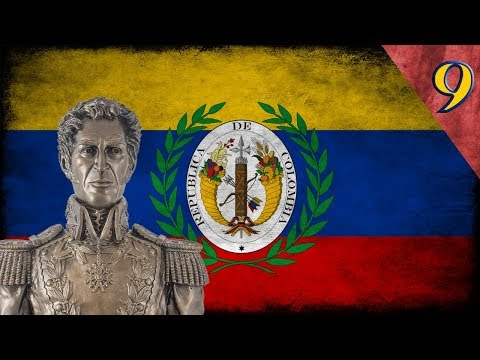"Heart of Iron 4 - Millennium Dawn: Gran Colombia #9 ""Peru se integra en la Gran Colombia"""