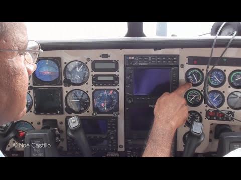 Cessna 210 Centurion Rolls Royce Turbo - In Flight