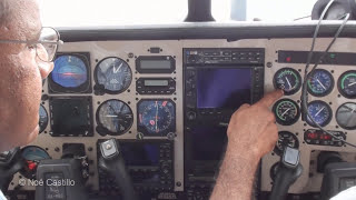 Cessna 210 Centurion Rolls Royce Turbo - In Flight