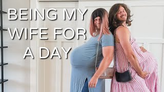 BEING MY WIFE FOR A DAY - ARIE AND TROY SEE WHAT IT'S LIKE!