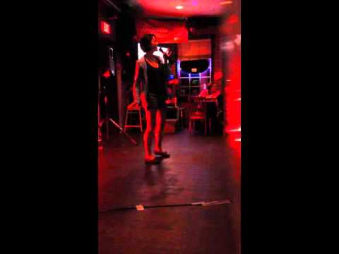 Opera Singer Sings Let it Go - Frozen at Karaoke in Canada