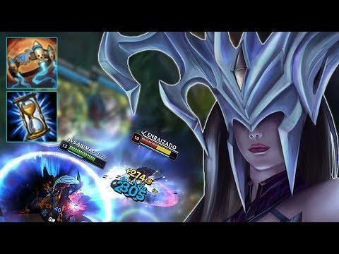 DEIXAMOS UM YASUO 1/8 FAZENDO LISSANDRA MID DE CLEPTOMANCIA - League Of Legends - [PT-BR]