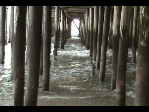 Under the  pier at seaside heights, nj
