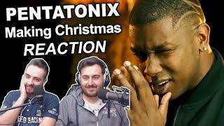 """""""Pentatonix - Making Christmas"""" Singers Reaction"""