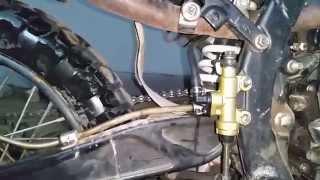 IRBIS TTR 250. Обзор устоновленого тормозного цилиндра от IRBIS TTR 250R