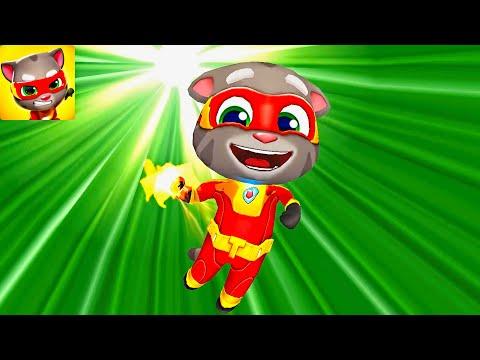 Talking Tom Hero Dash TOM SUPERHERO | Android Gameplay #1 - Fun Game iOS/Android