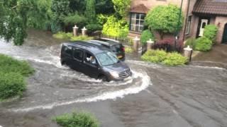 wateroverlast Boxmeer  2 juni 2016