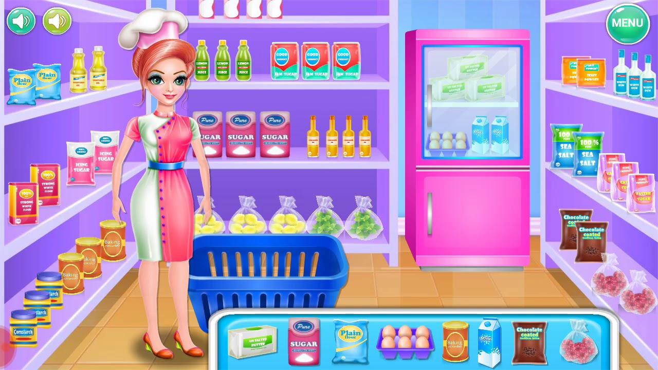 Game Memasak Cupcake Gratis Android Permainan Anak Memasak Kue Cupcake Yang Sangat Lezat Youtube