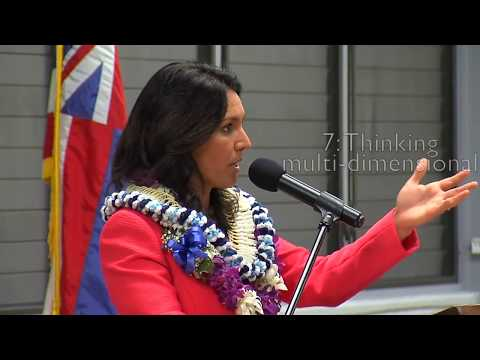 Tulsi Gabbard show Politicians how to Answer a Question
