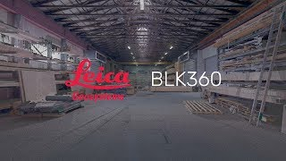 BLK360 Point Cloud Flythrough: Schmid Halle