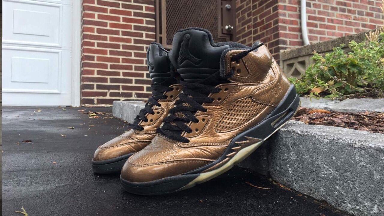 sports shoes 5be32 f1a9e Custom Air Jordan 5