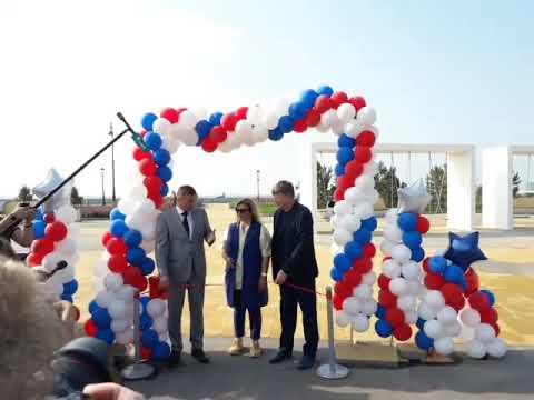 Открытие общественного пространства у Новокрестовской