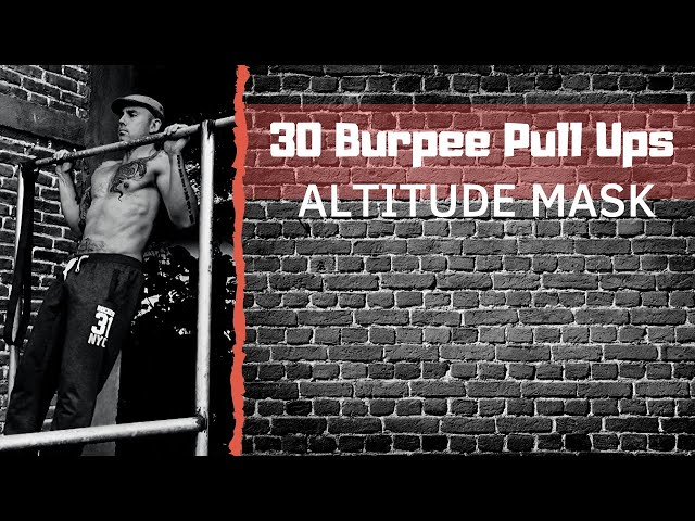 Burpee Pull-ups - Physically Challenge Yourself!