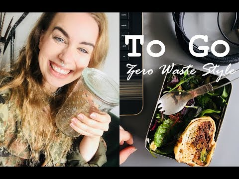 GETTING TAKEOUT IN YOUR OWN CONTAINER // Zero Waste To Go Food
