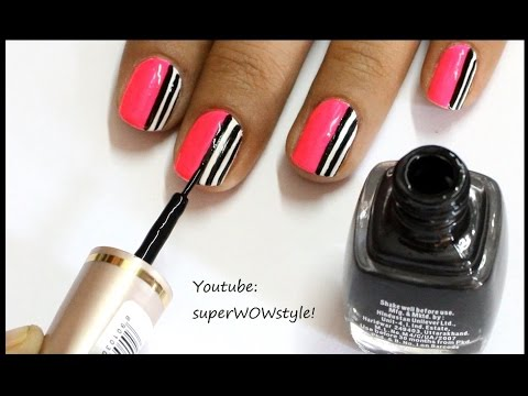 How to make your own nail art brushtools superwowstyle youtube how to make your own nail art brushtools superwowstyle prinsesfo Choice Image