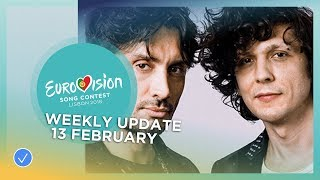 Eurovision Song Contest - Weekly Update - 13 February 2018