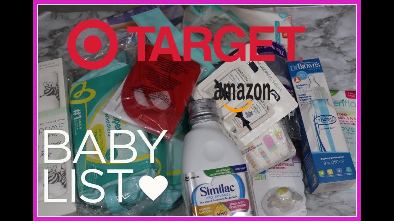 Amazon Baby Registry l Baby List l Target Baby Registry l ...