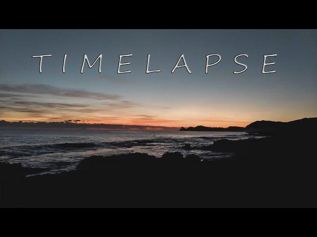 TIMELAPSE AMANECER
