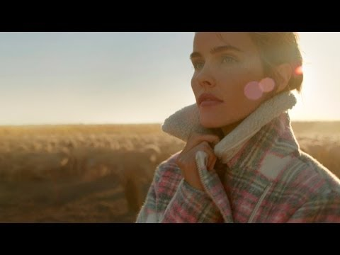 Isabel Lucas in 'Life Through Wool' by Country Road and The Woolmark Company