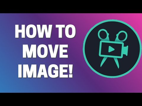 How To Move Image In Movavi Video Editor Plus 2020