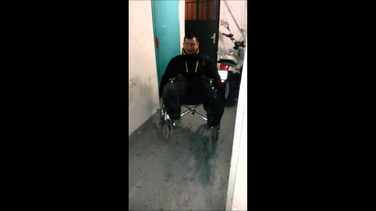 Comment faire des lev en chaise roulante youtube - Chaise roulante de bureau ...