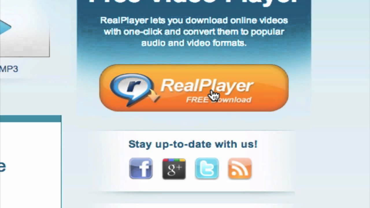 Realplayer downloader addon for google chrome.