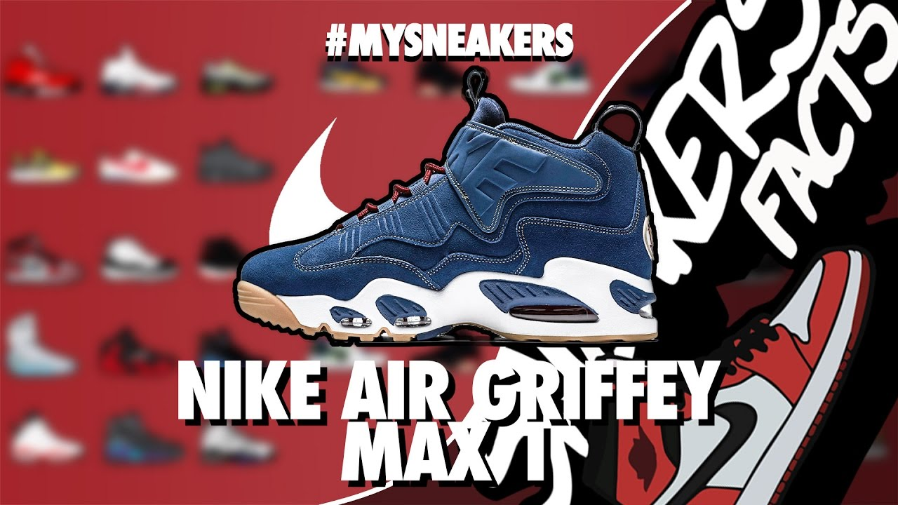 8868180c8e6c Sneakers Facts  MYSNEAKERS - Nike Air Griffey Max 1 - YouTube